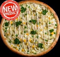"""Пицца """"Оливье"""""""