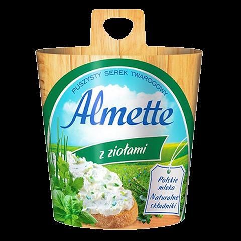 Сыр Альметте с зеленью