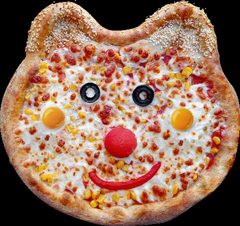 Детская пицца Мишка Пух