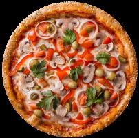 """Піца """"Вегетаріанська"""""""