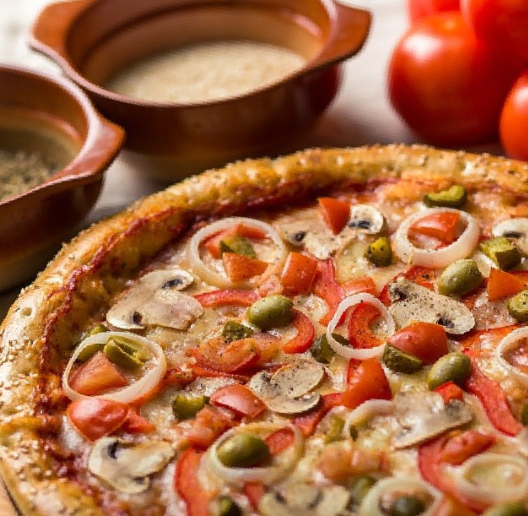 pizza vegetarianskaya dnepr